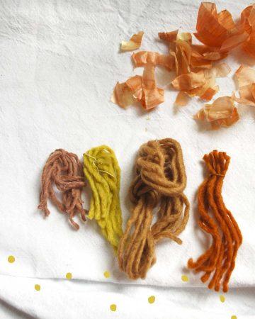 Wolle-Herbstfarben-